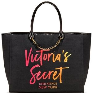 Victoria's Secret City tote black